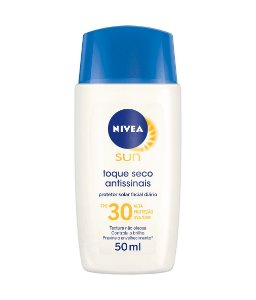 Nivea Sun Protetor Solar Facial Antissinais Toque Seco FPS 30 50ml