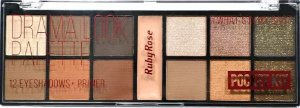 Ruby Rose Paleta de Sombras Poket Kit #What's in My Bag? Drama Look HB-9963