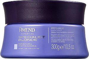 AMEND Specialist Blonde Máscara Matizadora 300g