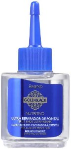 AMEND Gold Black Ultra Reparador de Pontas Nutritivo 30ml