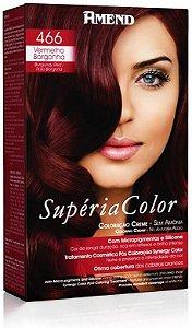 AMEND Supéria Color Tonalizante 466 Vermelho Borgonha