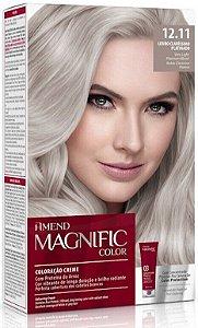 AMEND Magnific Color Coloração 12.11 Louro Claríssimo Platinado