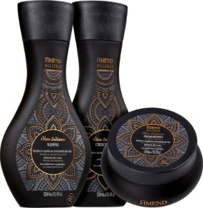 Amend Millenar Óleos Indianos Shampoo + Condicionador 300ml + Máscara Intensiva 300g