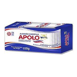 APOLO Algodão Hidrófilo Caixa 100g