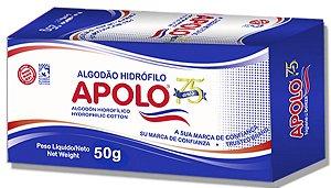 APOLO Algodão Hidrófilo Caixa 50g