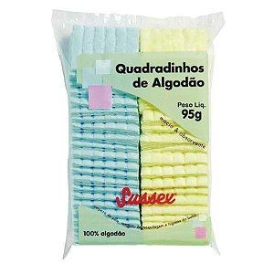 SUSSEX Algodão Quadradinhos Coloridos 95g