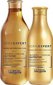 L'Oréal Professionnel Expert Nutrifier Shampoo 300ml + Condicionador 200ml