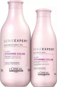 L'Oréal Professionnel Expert Vitamino ColorA-OX Shampoo 300ml + Condicionador 200ml