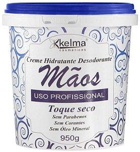 KELMA Creme Hidratante Desodorante para as Mãos Uso Profissional Toque Seco 950g