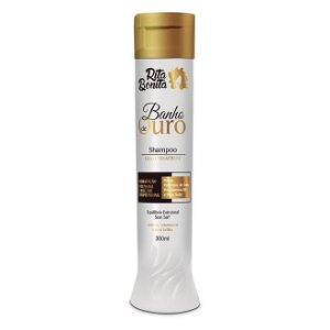 RITA BONITA Banho de Ouro Shampoo Gold Treatment 300ml
