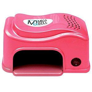 MEGA BELL Cabine UV Secador de Unhas Nails Matic Compact Rosa 127V (136)