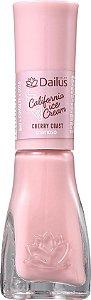 DAILUS Esmalte Coleção California Ice Cream Vegan Cremoso Cherry Coast