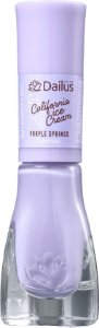 DAILUS Esmalte Vegano California Ice Cream  Cremoso Purple Springs