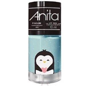 ANITA Esmalte My Wish Pets Cremoso Poá Pinguim