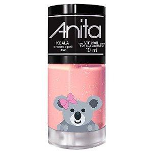 ANITA Esmalte My Wish Pets Cremoso Poá Koala