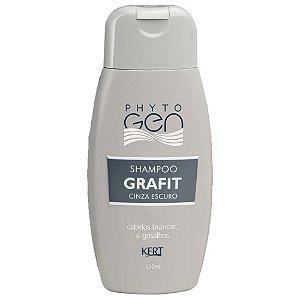 KERT Phyto Gen Shampoo Tonalizante Grafit Cinza Escuro 120ml