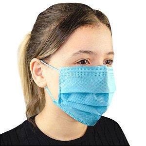 SANTA CLARA Máscara Descartável Não Tecido com Elástico Azul  50un (5029)