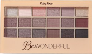 RUBY ROSE Paleta de Sombras Be Wonderful HB-9925