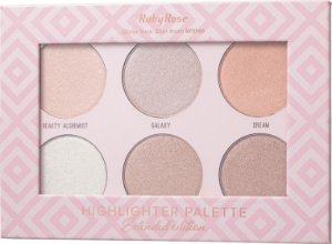 RUBY ROSE Paleta Iluminadora Glow Your Skin Extended Edition HB-7501