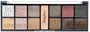 RUBY ROSE Paleta de Sombras Pocket Kit #What's in My Bag? Thunderstruck HB-9941