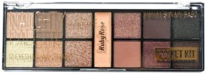RUBY ROSE Paleta de Sombras Pocket Kit #What's in My Bag? Naughty by Nature HB-9941