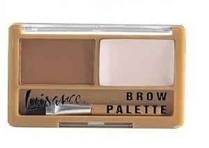 LUISANCE Paleta de Sombras Brow Palette  Marrom Claro L2028-A