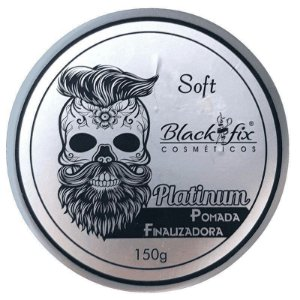 BLACK FIX Platinum Pomada Modeladora 150g