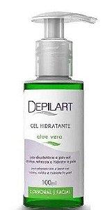 DEPILART Gel Hidratante Corporal e Facial Aloe Vera 100ml