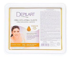 DEPILART Cera Depilatória Quente com Chocolate e Mel 250g (vencimento 11/21)