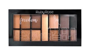 RUBY ROSE Paleta de Sombras Mini Kit HB-9985/2 Freedom