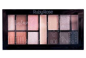RUBY ROSE Paleta de Sombras Mini Kit HB-9985/4 Natural