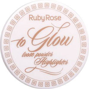 RUBY ROSE Pó Iluminador To Glow HB-7227 cor 2 Fancy