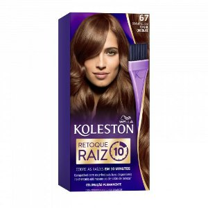 KOLESTON Retoque de Raiz 10MIN 67 Chocolate