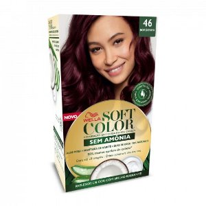 SOFT COLOR Coloração Permanente 46 Borgonha