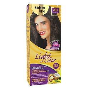 LIGHT COLOR Tonalizante 3.0 Castanho Escuro