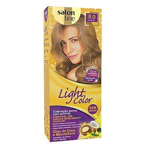 LIGHT COLOR Tonalizante 8.0 Louro Claro