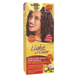 SALON LINE Light Color Tonalizante 3.66 Bordeaux Profundo