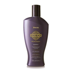 AMEND Gold Black Shampoo Pós Progressiva 250ml (vencimento 12/20)