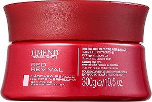 AMEND Red Revival Máscara Realce da Cor Vermelha 300g