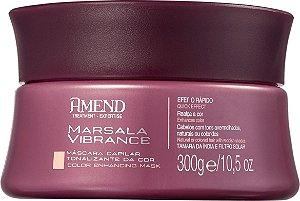 AMEND Marsala Vibrance Máscara Tonalizante da Cor 300g