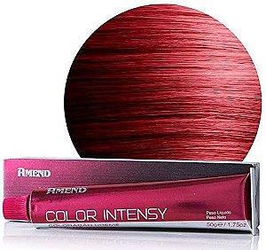 AMEND Color Intensy Coloração Permanente 6.62 Louro Escuro Vermelho Irisado