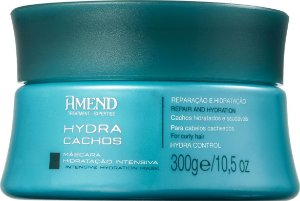 AMEND Hydra Cachos Máscara Capilar Hidratação Intensiva 300g