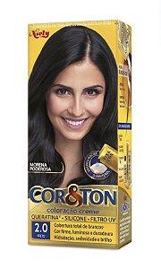 COR&TON Coloração Permanente 2.0 Preto