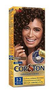 COR&TON Coloração Permanente 5.3 Castanho Claro Dourado