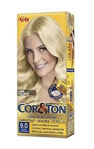 COR&TON Coloração Permanente 9.0 Louro Claríssimo