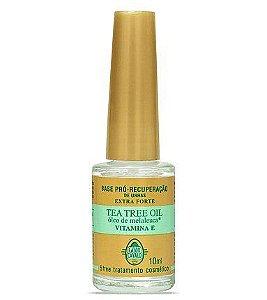 CASCO de CAVALO Base Pró Recuperação Tea Tree Oil com Óleo de Melaleuca e Vitamina E 10ml