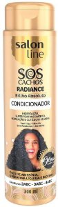 SALON LINE SOS Cachos Radiance Brilho Absoluto Condicionador Brilho 300ml