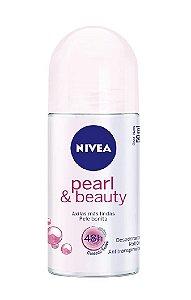 NIVEA Desodorante Antitranspirante Roll On Pearl & Beauty 50ml