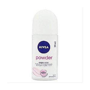 NIVEA Desodorante Roll On Powder Toque Seco 50ml