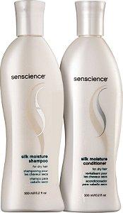 SENSCIENCE Silk Moisture Shampoo + Condicionador 300ml